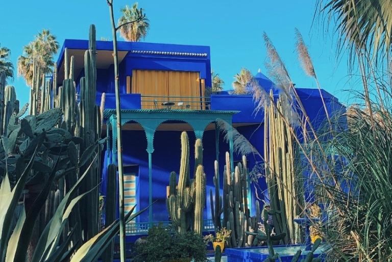 Jardin Majoirelle Marrakech YSL